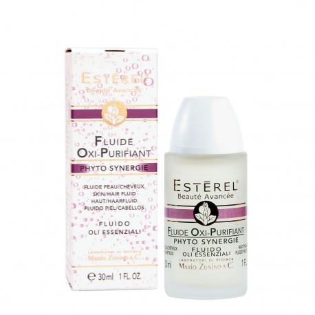 Oxygenating and Purifying Fluid for Skin and Scalp